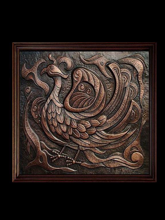 潜江现代浮雕壁画
